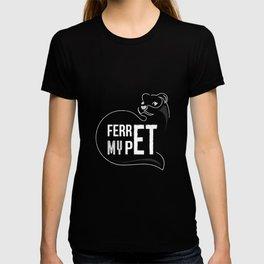 Ferret Ferret Marder Wiesel Flink T-shirt