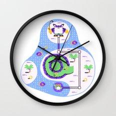 Overworld: Oasis Wall Clock