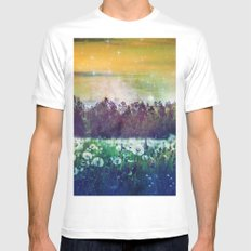Let's Dream Mens Fitted Tee White MEDIUM