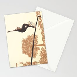 SKATER CROOKED Stationery Cards