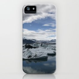 icy reflexions iPhone Case