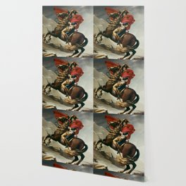 Napoleon Crossing The Alps Wallpaper