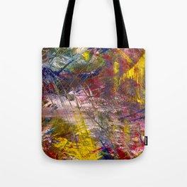 Scrape Abstract Tote Bag