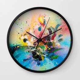 DANCE OF SPRING Wall Clock