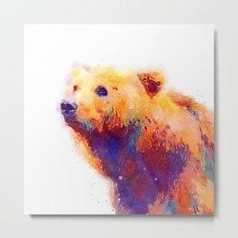 The Protective - Bear Metal Print