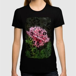 Pink Roses in Anzures 3 Letters 4 T-shirt