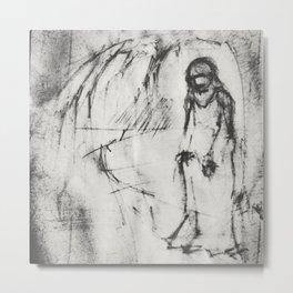 Untitled Sketch by Vladimir Karabegov Metal Print