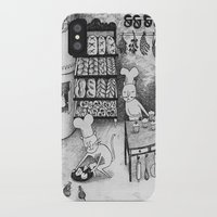 baking iPhone & iPod Cases featuring Baking Cats by Ulrika Kestere