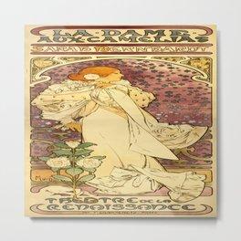 Vintage poster - La Dame Aux Camelias Metal Print