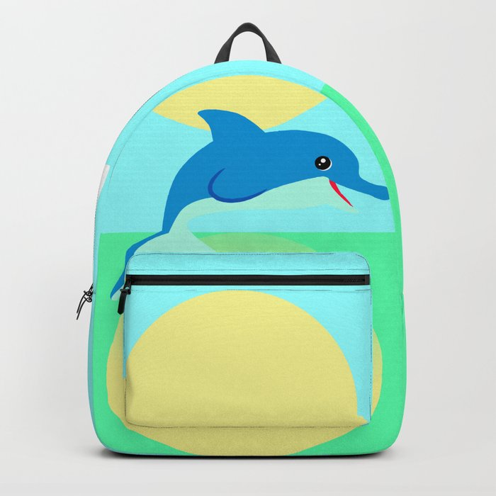 Dolphin - minimal Backpack