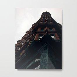 Chemical Building Metal Print