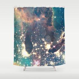 Intergalactic Shower Curtain