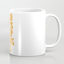 Duran Duran's Wild boys keep swinging. Music quote. Coffee Mug