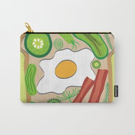 Egg on Toast Carry-All Pouch