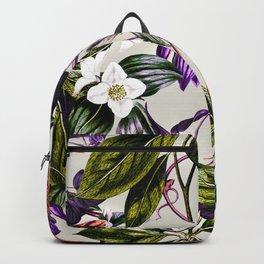Vibrant botanic Backpack
