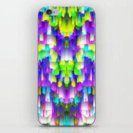 Colorful digital art splashing G392 iPhone Skin