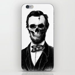 Abraham Lincoln iPhone Skin