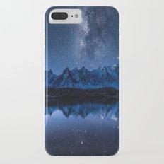Night mountains iPhone 8 Plus Slim Case