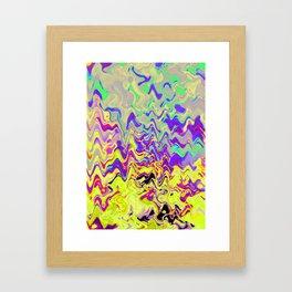 Melt with me Framed Art Print