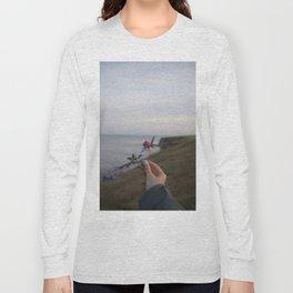 Flower in Seaham, United Kingdom Long Sleeve T-shirt