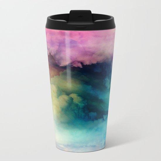 Rainbow Dreams Metal Travel Mug