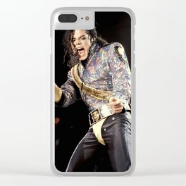 MJ 1992 Clear iPhone Case