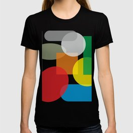 Tech geometric colorful Background #society6 #decor #buyart #artprint T-shirt