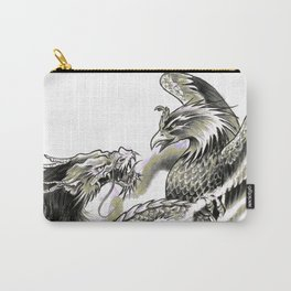 Dragon Phoenix Tattoo Art Print Carry-All Pouch