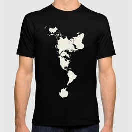 Dymaxion Map of the World T-shirt