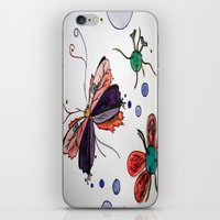 evolution iPhone & iPod Skins featuring Evolution by Sharixon