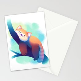 Dreaming Red Panda Stationery Cards