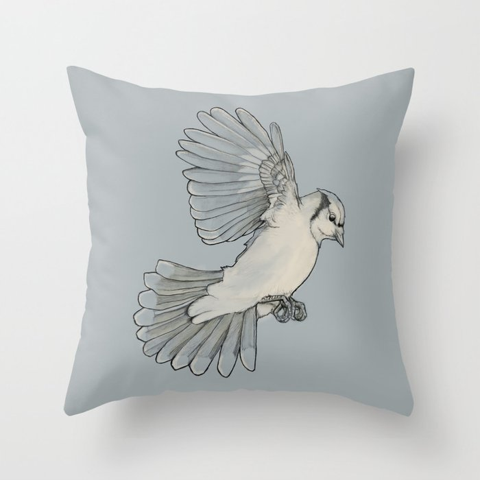 Dynamic Flight Throw Pillow