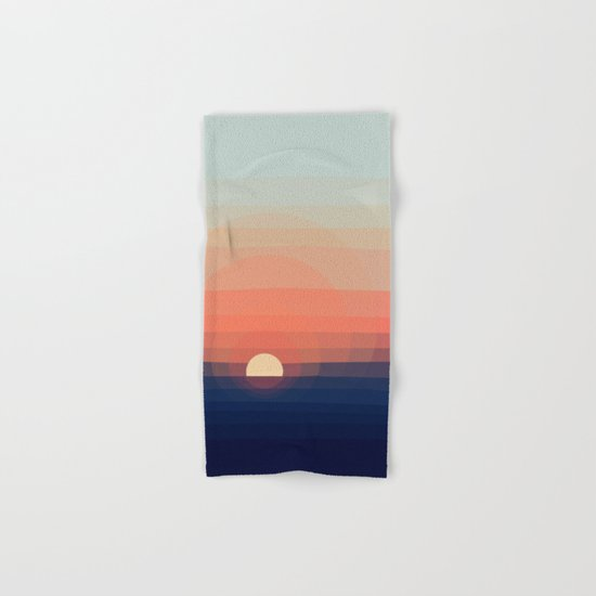 Colors Sunset Hand & Bath Towel
