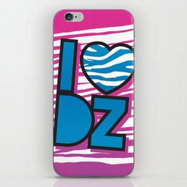 I Heart DZ iPhone Skin