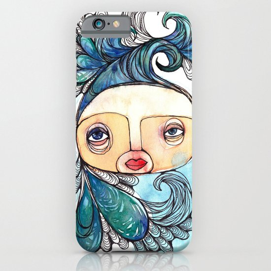 Watergirl iPhone & iPod Case