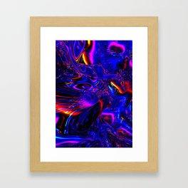 Psych Waves Framed Art Print