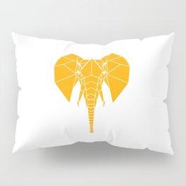 Yellow Elephant Pillow Sham
