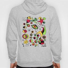 Joan Miro Peces De Colores (Colorful Fish ) Artwork for Posters Tshirts Prints Men Women Kids Hoody