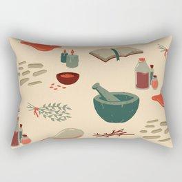 Alchemy Pattern Rectangular Pillow