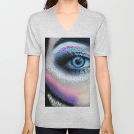 Eye of the Warrior Unisex V-Neck