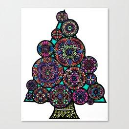 Mandala Tree Canvas Print