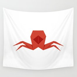 Origami Crab Wall Tapestry