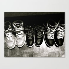 FRESH KICKS B&W Canvas Print