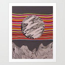 The In Between Art Print
