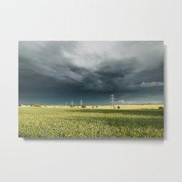 Storm Chasing Metal Print