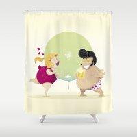 elvis Shower Curtains featuring Elvis by Jimmy Cudriz