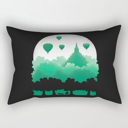 Balloons City Rectangular Pillow