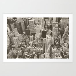 City Dream Art Print