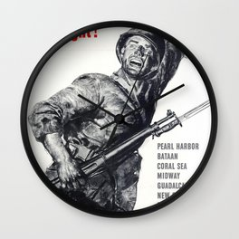 We Have Just Begun To Fight Wall Clock