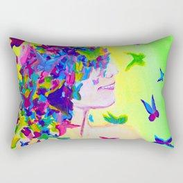 Flighty Thoughts Rectangular Pillow